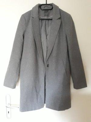 Primark Cappotto in pile grigio chiaro