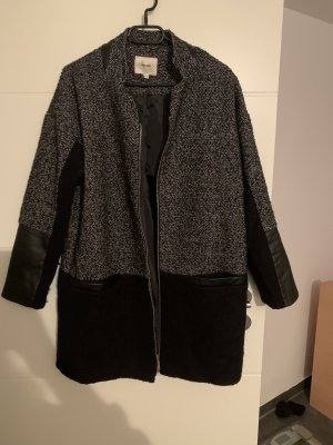 Koton Between-Seasons-Coat black-grey