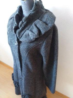 Made in Italy Short Coat dark grey-anthracite