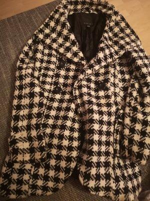 New Yorker Robe manteau blanc-noir