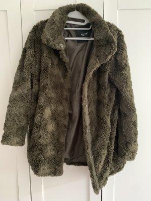 Vero Moda Manteau de fourrure multicolore