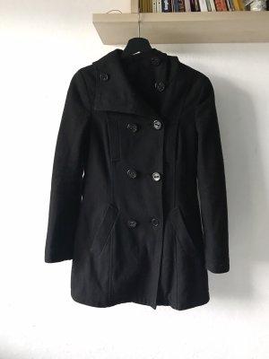Amisu Abrigo de piloto negro