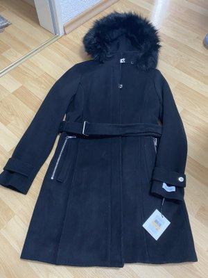 Calvin Klein Heavy Pea Coat black