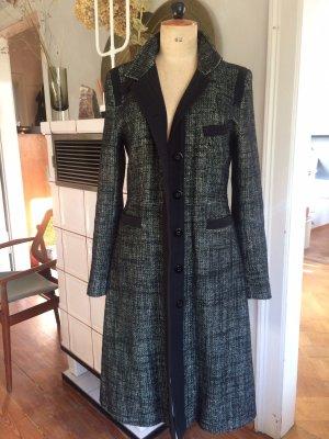 Mantel Filippa K, Gr. M, Wollmantel, neuwertig, schwarz-weiß, tolle Details