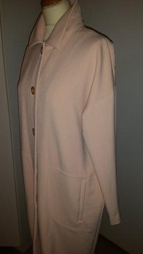 Asos Abrigo de piloto rosa claro tejido mezclado