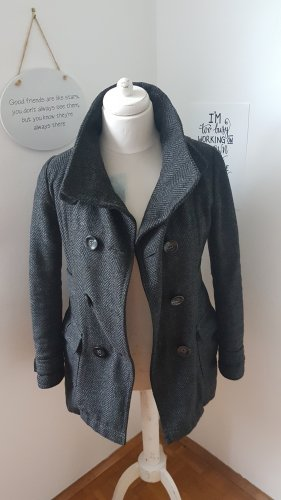 C&A Wool Coat dark grey