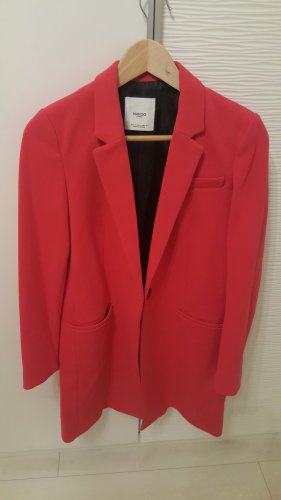 Mango Frock Coat raspberry-red