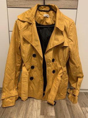 Mantel gelb Übergangsmantel 34