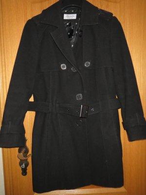 Mantel, Gr.44/L, schwarz, kurz