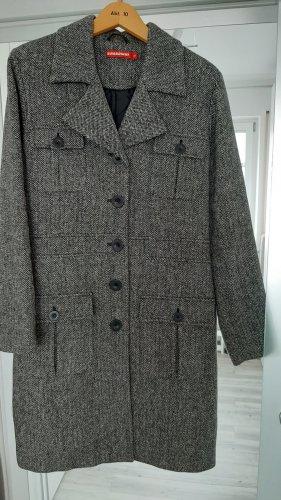 Brodway Płaszcz przejściowy biały-czarny
