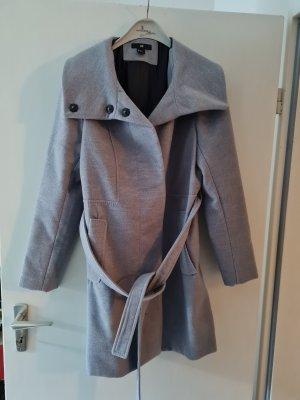 Mantel, grau