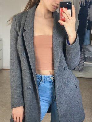 Mantel grau H&M 36 S Blazer