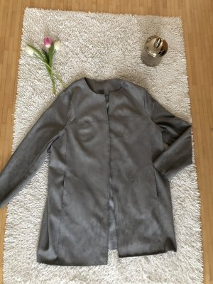 Mantel grau neu Alcantara XL 44 Bonita