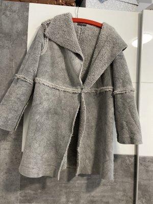 Cappotto in eco pelliccia multicolore