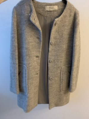 Mantel grau Zara