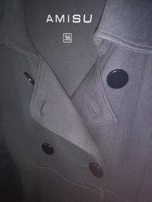 Amisu Manteau mi-saison noir