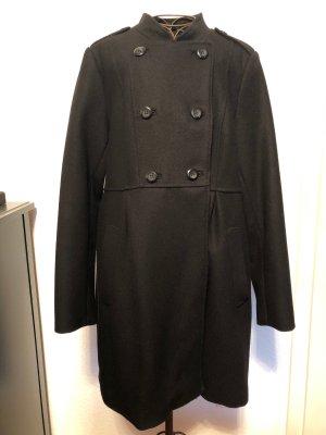 Hennes & Mauritz Abrigo de lana negro