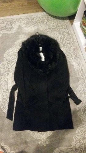 H&M Conscious Collection Robe manteau noir