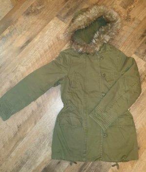 H&M Kurtka zimowa khaki