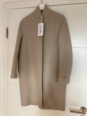 Harris Wharf London Cappotto in lana bianco sporco-crema