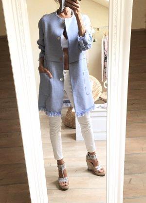 Mantel hellblau Zara Neu!