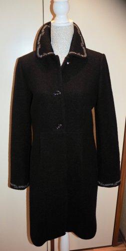 Mantel &Hübsch UndHübsch Wolle 38 M schwarz Damen Wolle Winter