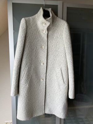Hugo Boss Manteau en laine crème-gris clair
