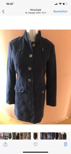 H&M Abrigo de invierno azul oscuro
