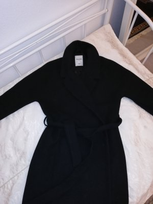 The Sting Gabardina tipo vestido negro