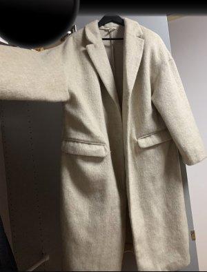 H&M Oversized jas licht beige