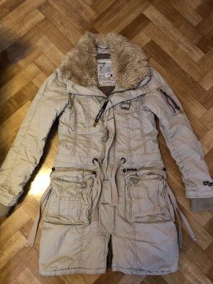 Khujo Manteau à capuche doré