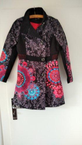 Mantel in Blumenprint optik