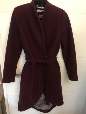 Wool Coat bordeaux