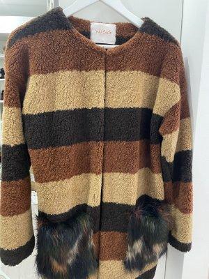 Fur Jacket multicolored