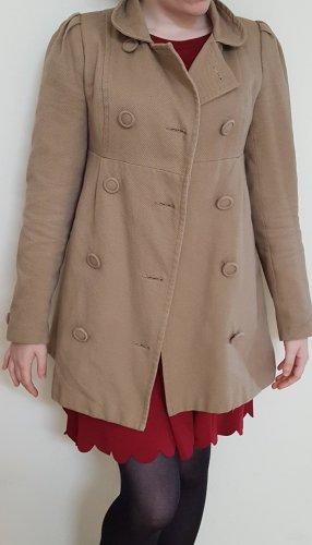 Mantel in Camel Farbe