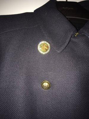 Mantel in dunkelblau , doppelte Knopfleiste , toller Schnitt