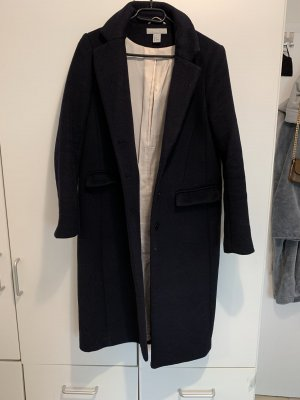H&M Manteau d'hiver bleu foncé