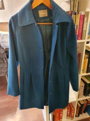 Orsay Between-Seasons-Coat cadet blue