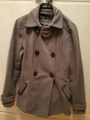 Mantel in Grau Größe S