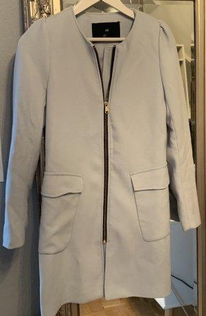 H&M Manteau court bleu azur