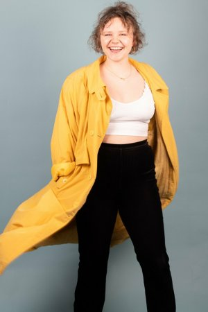 Sonstige Duffle-coat jaune