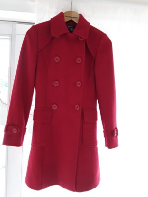 Zara Coat Dress red