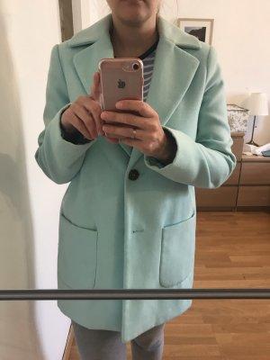 Mantel in türkis Farbe