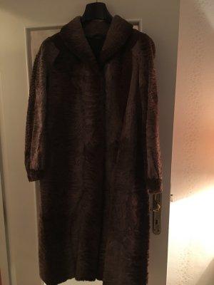 Mantel Indisch Lamm, Kürschnerarbeit, Größe 42 Vintage