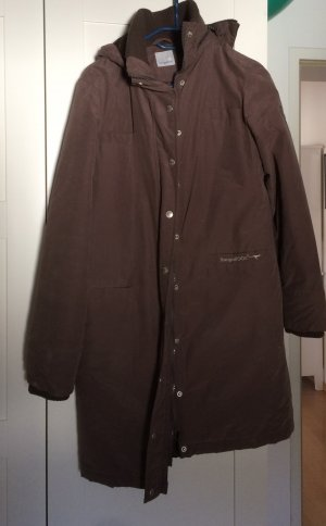 Kangaroos Manteau à capuche brun