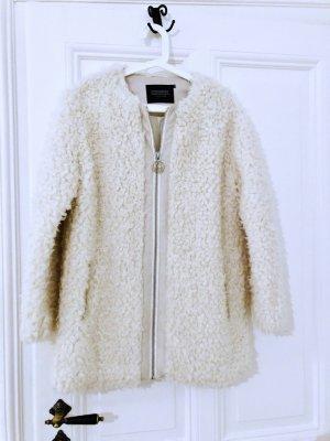Mantel Jacke coat Eleven Paris faux fur fell teddy schafhaut Pelz boucle