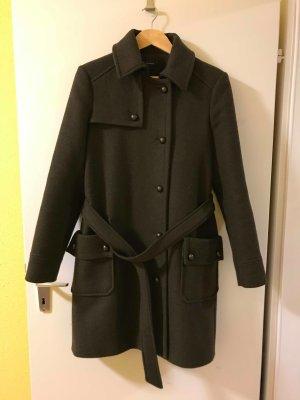 Mantel Jacke Coat mit Gürtel und Taschen von Promod in 40