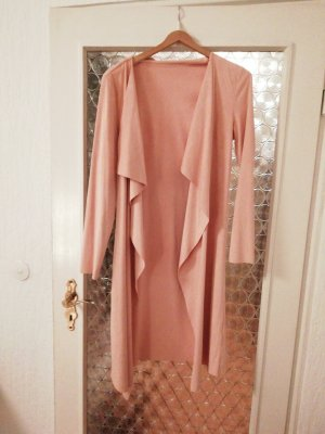 Robe manteau rose