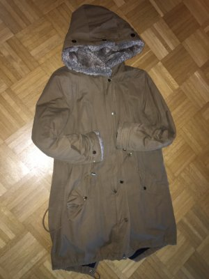 Esprit Outdoor Jacket camel-light brown cotton