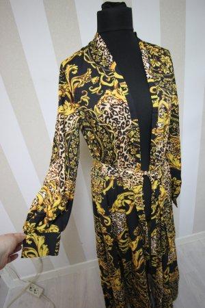 Mantel Jacke Muster Design Barock Animal Kimono chic